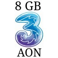 Harga perdana paket kuota internet 3 three aon 8 gb | Pembandingharga.com