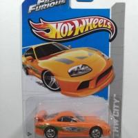 Hot Wheels Toyota Supra orange Fast and Furious