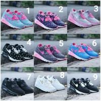 Sepatu Nike Airmax90 Lokal Import Cewek Cewe Airmax 90 Air Max Lunar 1