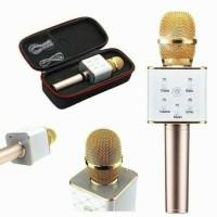 Jual Mic Karaoke KTV Q7 Bluetooth Wireless Microphone With Speaker Karaoke Murah