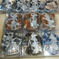 Jual ready kalung batik wayang Murah