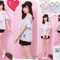 blouse batik ba216