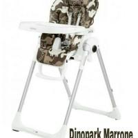 Peg Perego Prima Pappa Zero 3 warna Dinopark Marone
