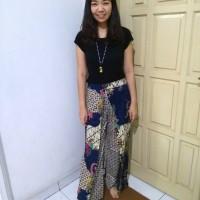 Celana Panjang Gaul Batik Modern Kulot Keren Bagus Jogger Hijabers