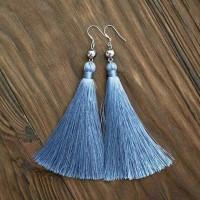 Jual Beads tassel earrings / anting tassel Murah