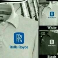 kaos kerah rolls royce/polo shirt