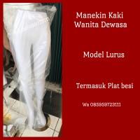 Manekin Kaki Full Wanita Dewasa (Model Lurus)