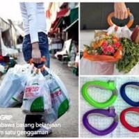 Jual NEW One Trip Grip Shoping Bag Holder Praktis Satu Pegangan Semua Tas Murah