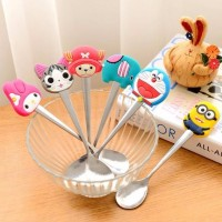 Jual NEW Sendok kecil Karakter Tea Spoon Minion Melody Stainless Souvenir Murah