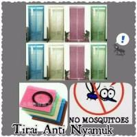 Jual NEW Tirai Pintu Magnet Anti Nyamuk magnetic curtain magic mesh 1kg is Murah