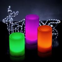 Jual NEW Lampu Lilin Remote Control Candle Light isi 3pcs Christmas Lamp N Murah