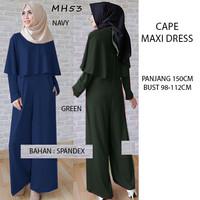 Jual Cape Maxi Dress (9033) (86) Murah