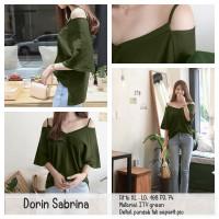 Jual Sabrina Jumbo Blouse Big Size Baju Atasan Wanita XL - Dorin Blouse Murah