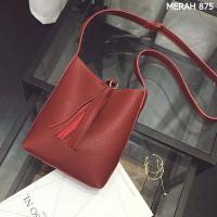 Tas Fashion Import Wanita MD 875 Merah