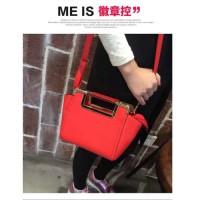 BTH1034 Tas Fashion Import Wanita Merah