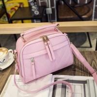 BTH1020 Tas Fashion Import Wanita Pink