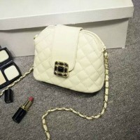 BTH1027 Tas Fashion Import Wanita Beige