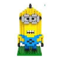 Jual Minion Kevin Nano Block Mainan Lego Mini Murah