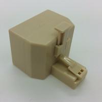 Passive Hub Ethernet RJ45 Dual Jack
