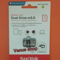 Jual SANDISK FLASHDISK OTG 16GB USB 3 / FLASH DISK 16GB OTG Murah