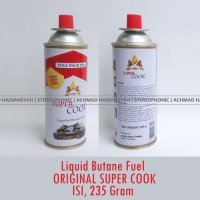 Jual Gas Kompor Portable Super Cook isi 235gram Tabung Gas Portable Hi Co  Murah
