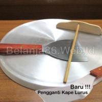 1 Set Wajan Datar Crepes Leker 30 Cm - Cor Alumunium