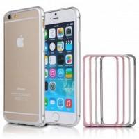 NOOSY Metal Aluminium Bumper Case for iPhone 6 Plus MF03 6Plus Pink