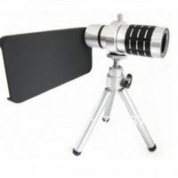 Harga lesung telephoto lens kit 12x zoom for iphone 5 5s se   Hargalu.com