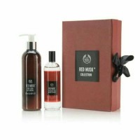 Jual BODY SHOP GIFT SET BOX RED MUSK COLLECTION Murah