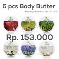 Jual Promo 6 Body Butter Bali Ratih Berkualitas Murah