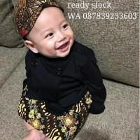 Baju Bayi Kostum Jawa Beskap Mudun Lemah Tedak Siten Halus Murah