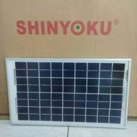 Promo Solar Panel Solar Cell Panel Surya Shinyoku 10WP Poly Berkualit