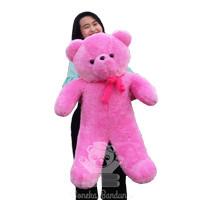 boneka beruang jumbo v2 full rasfur lembut boneka bandung teddy panda