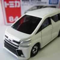 Miniatur Mobil Toyota Vellfire Putih Tomica 84