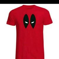 Jual Tshirt Deadpool Merah Murah