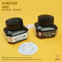 Kuretake Black / Sumi Ink 60ml