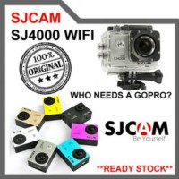 SJCAM SJ4000 WIFI NOVATEK - BLACK B335