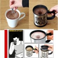 Jual Automatic Self Stirring Mug Steering Coffee Cup Gelas Aduk Otomatis Murah