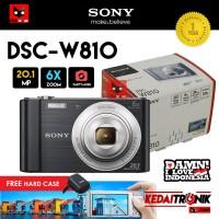 Camera Sony DSC-W810 20MP Cybershot Kamera Pocket Mini Action FULL HD
