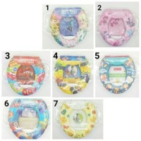 Jual Soft Baby Potty Seat with Handle / Alas Dudukan Kloset Berkualitas Murah