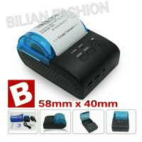 Bluetooth Printer 58mm Kasir|Cafe|Pawoon PPOB Paytren. New Model