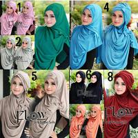 Jual Paling Laris Promo ! Hijab/Jilbab Syria Turban Syilla 2in1 Murah