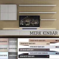 Jual PROMO 40x10x4cm Rak Dinding/Ambalan/Melayang/Floating Shelf MERK KINBA Murah