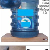 Jual DISKON 20x15x4cm Rak Dinding/Ambalan/Melayang/Floating Shelf MERK KINB Murah