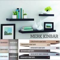 Jual Murah ! 100x20x4cm Rak Dinding/Ambalan/Melayang/Floating Shelf MERK KI Murah
