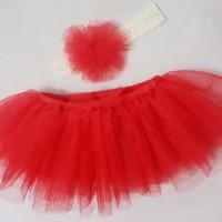Jual Rok Tutu Tulle Klasik Untuk Bayi 0-3 Bulan ( Baby Tutu Skirt) Murah
