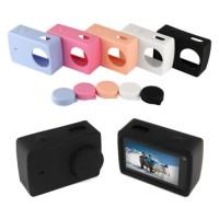 Jual MURAH Soft Silicone Case Lens Karet Penutup Cover Xiaomi Yi 2 4k YiCa Murah
