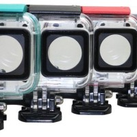 Jual MURAH Underwater WaterCase Waterproof Case IPX 8 45m Xiaomi Yi 2 4K 2 Murah
