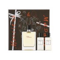 Jual original parfum gift set Hermes Terre Monsieur & Madame 100ml Edt Murah