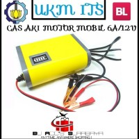 Jual Cas Aki Motor Mobil 6A.12V Portable Motorcycle Car Battery Charger 6A. Murah